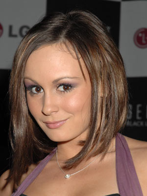 Reality TV star Chanelle probably wishes the dimples were on her cheeks rather than her thighs.