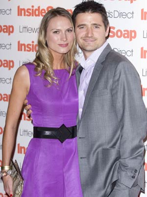 Inside Soap Awards 2008: Tom Chambers and his guest huddle together