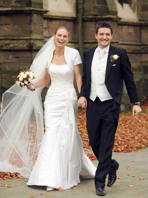 Tom Chambers marries Clare Harding