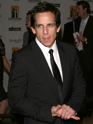 Ben Stiller scrubs up well