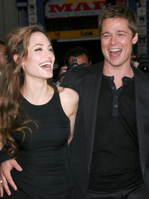 Brad Pitt and Angelina Jolie - A love story in pictures