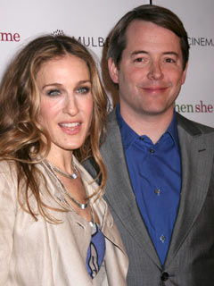 Sarah Jessica Parker and Matthew Broderick show a united front