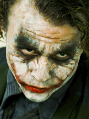 Heath Ledger in his final role