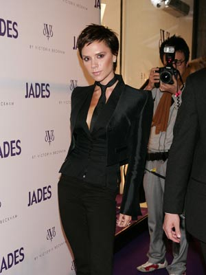 Victoria Beckham turns into a boy