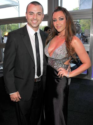 Former married husband and wife: Andy Scott-Lee and Michelle Heaton who are now divorced