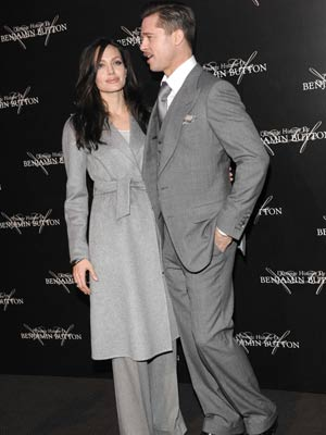 Brad Pitt and Angelina Jolie | Brad Pitt and Angelina Jolie colour co-ordinate  | Pictures | Now Magazine | Celebrity Gossip