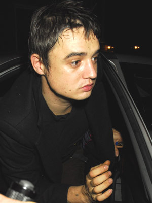 Celebrity manky nails: Pete Doherty