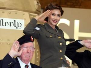 Lisa Snowdon | Lisa Snowdon joins the army | Pictures | Now Magazine | Celebrity Gossip