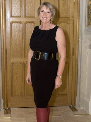 Fern Britton shows off her shrinking waist