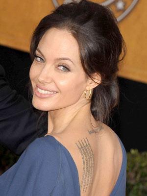 Angelina Jolie | Angelina Jolie at BAFTAS | Now magazine | Celebrity style
