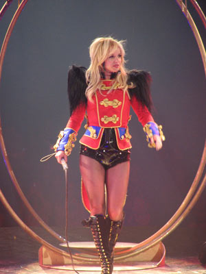 Britney Spears | Britney Spears runs away with her Circus tour | Pictures | Now Magazine | Celebrity Gossip