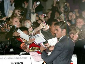 Zac Efron | Zac Efron is mobbed | Pictures | now magazine | celebrity gossip