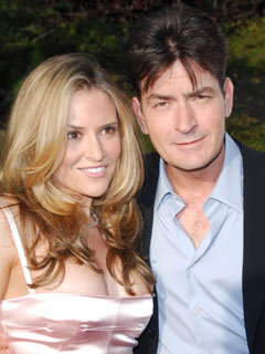 Charlie Sheen is engaged to Brooke Mueller