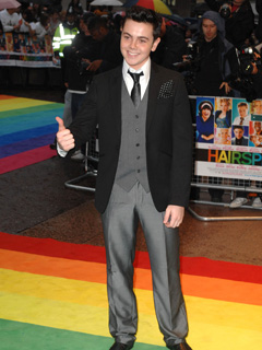 Ray Quinn loves a classic look
