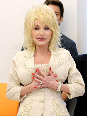 Dolly Parton protects her best assets