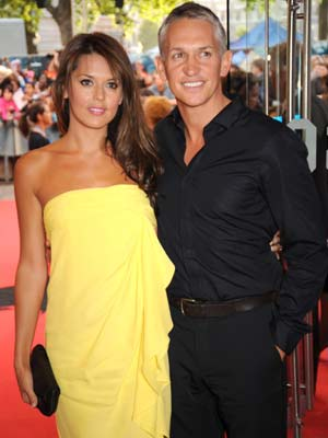 The Dark Knight UK premiere: Gary Lineker shows off his girlfriend