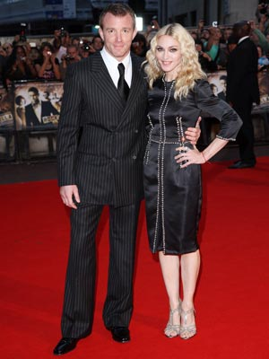 Guy Ritchie's RocknRolla premiere: Madonna and Guy Ritchie squash those nasty divorce rumours