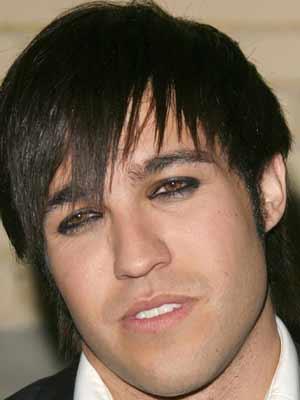 Pete Wentz   men in make-up   galleries   now magazine   celebrity gossip  