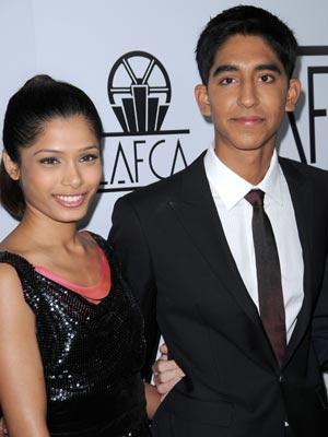 Dev Patel | Dev Patel cosies up with Freida Pinto | Now Magazine | Celebrity Gossip