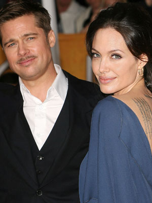 Angelina Jolie and Brad Pitt | Angelina Jolie and Brad Pitt at Baftas | Now magazine | Celebrity Gossip