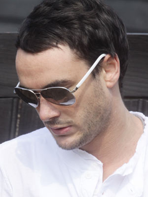 Jack Tweed | Jack Tweed looks down | Pictures | Now magazine | Celebrity gossip