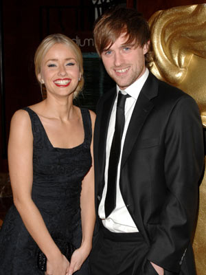Jonas Armstrong and Sammy Winward | Jonas Armstrong and Sammy Winward at the BAFTA British Academy Children's Awards | Now Magazine