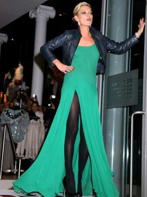 Kate Moss | Kate Moss shows some leg | Pictures | now magazine | celebrity gossip