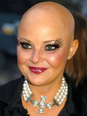 Gail Porter   Gail Porter makes an impact   Pictures   Now magazine   celebrity gossip
