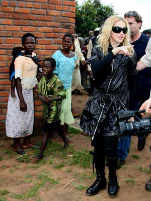Madonna | Madonna tours Malawi| Pictures | Now magazine | celebrity gossip