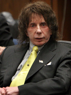 Phil Spector | Phil Spector in the Los Angeles Superior Court | Now Magazine
