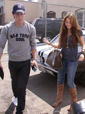 Miley Cyrus | Nick Jonas | Now Magazine | Celebrity News | Pictures