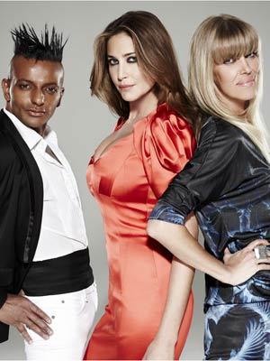 Britain's Next Top Model judges Louis Mariette, Lisa Snowdon and Huggy Ragnarsson | Now Magazine
