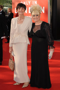 June Brown and Barbara Windsor | The Bafta Awards 2009 | Pictures | Now Magazine | Celebrity Gossip | TV Awards | Fashion