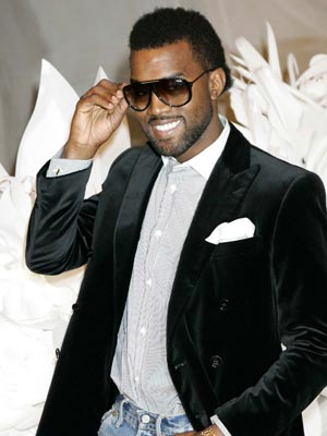 Kanye West wears shades indoors | Pictures | Now Magazine | Celebrity Gossip