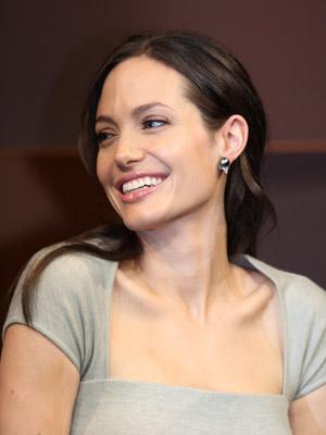 Angelina Jolie   Angelina Jolie is feeling flirty   Now magazine   Celebrity gossip