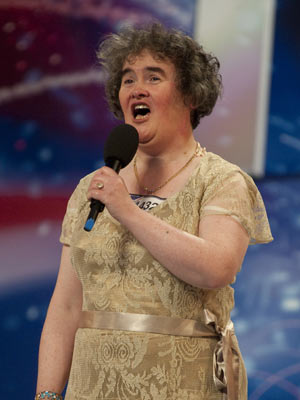 Britain's Got Talent star Susan Boyle | Susan Boyle auditions for Britain's Got Talent | Now Magazine