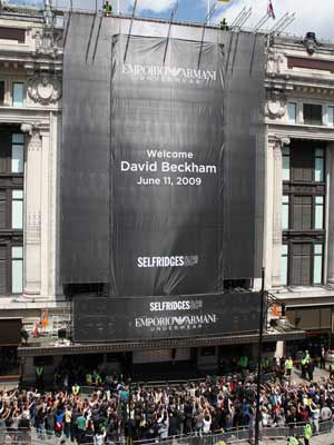 David Beckham | David Beckham strips off for new Emporio Armani campaign | Pictures | now magazine | celebrity gossip