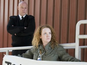 Coronation Street   Coronation Street: Fiz Brown proposes to John Stape in prison   pictures   now magazine   celebrity gossip