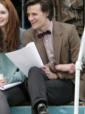 Matt Smith   Matt Smith as the new Doctor Who   Now Magazine   Celebrity Gossip   TV News