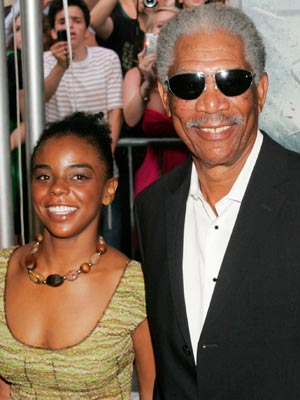 Morgan Freeman and E'Dena Hines | Now magazine | Celebrity gossip