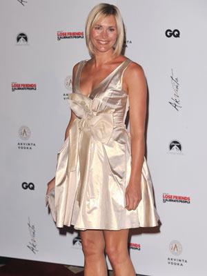Jenni Falconer dazzles overseas