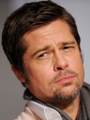Brad Pitt glares | Now Magazine | Celebrity Spy | Pictures