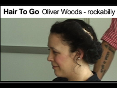 Hair To Go Oliver Woods - rockabilly style