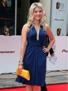 Holly Willoughby at Bafta TV Awards, London Palladium, London, Britain - 20 May 2007