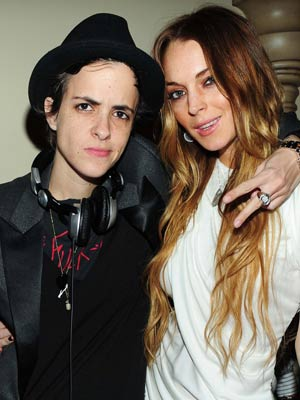 samantha ronson and lindsay lohan relationship status