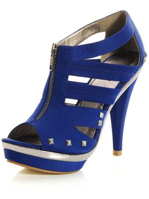 Blue suede sandal| Miss KG| Now Magazine| Celebrity gossip