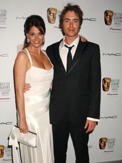 Sarah Parish and husband James Murray