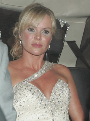 Amanda Holden    Stars arrive at Simon Cowell?s 50th birthday party   Pictures   Now Magazine   Celebrity Gossip