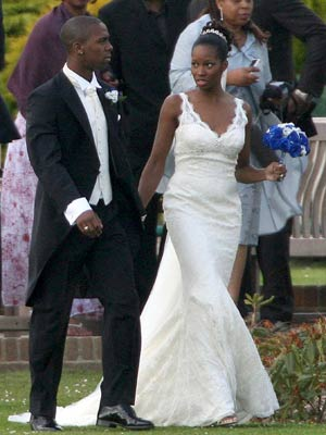 Jamelia and Darren Byfield wed