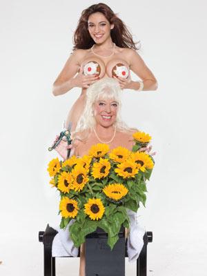 Celebirty Sunflower nude